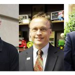 John Howard will serve as Emergency Programs director, Vernon Cox will serve as Soil and Water Conservation director, and Phillip Wilson will serve as Plant Industry Division director. (Courtesy of NCDA&CS)