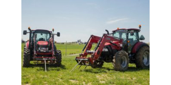 For the second year in a row, Baker Implement Company, a farm equipment supply company in Cape Girardeau, has donated two tractors for use by the Department of Agriculture at Southeast Missouri State University. (Courtesy of Southeast Missouri State University)