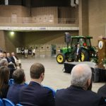 In his first post-confirmation appearance outside of Washington, D.C., Secretary Perdue visited Kansas City Thursday and Friday. (Courtesy of Missouri Department of Agriculture)