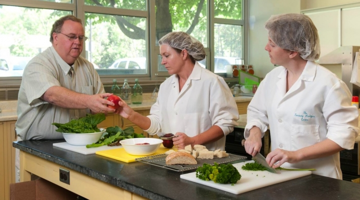 Don't wing it — practice food safety