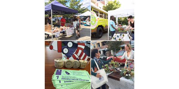 Returning for its third season, the Champaign Farmers' Market will take place in the parking lot at 310-330 N. Neil, immediately adjacent to the plaza at 1 West Main, from 3:30 p.m. to 6:30 p.m. every Tuesday from May 16 through October 31, with the exception of July 4. (Courtesy of The Land Connection)