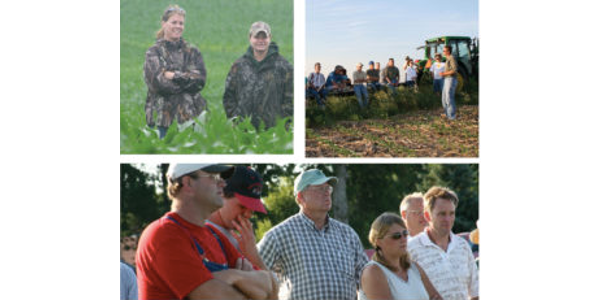 Iowa Learning Farms, in partnership with Prairie Rivers of Iowa, will host a cover crop and soil health field day Tuesday, June 13th. (Screenshot from flyer.)