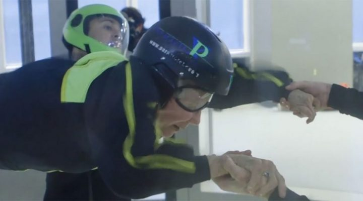 84-year-old wins skydiving adventure