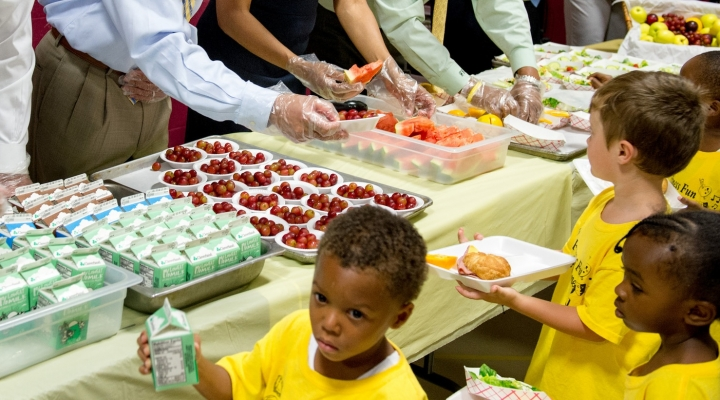 Dairy Council supports summer meals