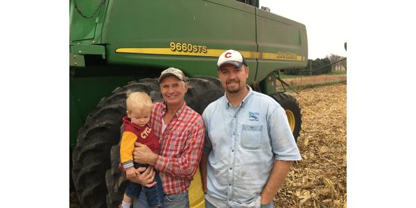 Transitioning to organic crop farming