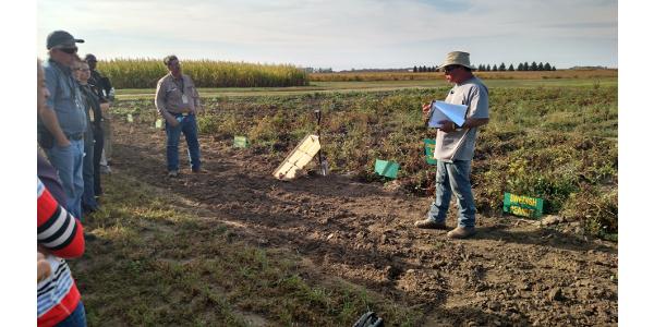 Organic field day July 18