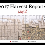 This is day 2 of the Kansas Wheat Harvest Reports, brought to you by the Kansas Wheat Commission, Kansas Association of Wheat Growers and the Kansas Grain and Feed Association.