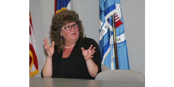 Lee County Commissioner Chairwoman Amy Dalrymple believes her experience in agriculture has allowed her to bring a unique perspective to local government. (Courtesy of NC Cooperative Extension-Lee County Center)
