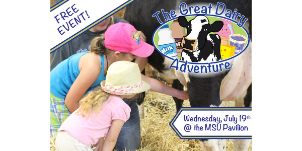 This event is geared to families, daycare centers, summer camps and anyone who wants to learn more about dairy farming and sample free ice cream and other dairy products.