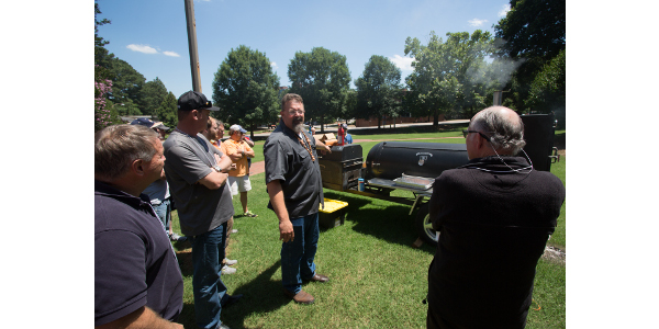 This year's BBQ Camp — the second annual — was held June 2-3 in Raleigh. (Courtesy of NC State University College of Agriculture and Life Sciences)