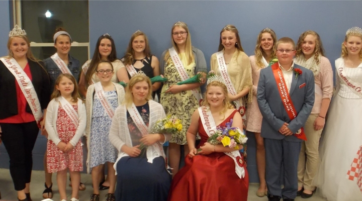 Dairy royalty crowned in Chautauqua Co.