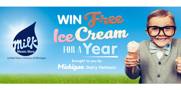 Free ice cream for a year