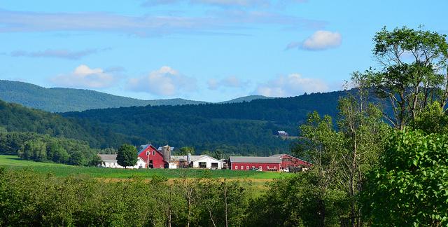 Vermont dairy farm opens to public