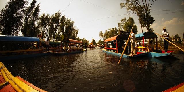 Mexico City floating farms save tradition