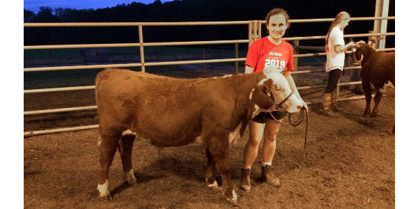 Stewart says her interest in agriculture became a passion when she got involved in her high school's FFA chapter. (Courtesy of NC State University)