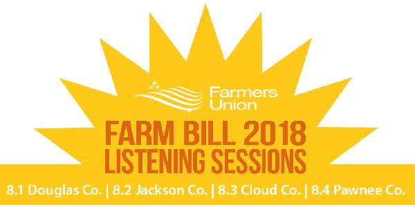 Join KFU for Farm Bill listening sessions
