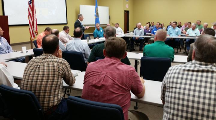 EPA's Scott Pruitt attends town hall in Okla.