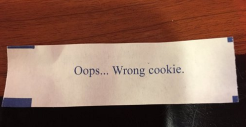13 fortune cookies that gave people hilariously bad advice