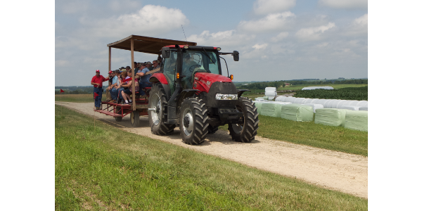 As one of the 12 CALS ag research stations, the site serves UW–Madison agricultural researchers who are testing, improving and adapting seeds and techniques to meet the needs of Wisconsin farmers. (Courtesy of UW-Madison)