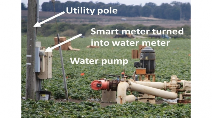 Automated water records support growers