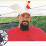 """""""I'm excited to share tips for how to get started raising chicken, turkey, and guinea fowl for meat and eggs. Plus I can't wait for everyone to try my delicious egg sandwiches and fresh coffee roasted on the farm"""" says Nicholas Bryant, owner of Bryant Family Farms. (Courtesy of Southwest Badger RC&D Council)"""