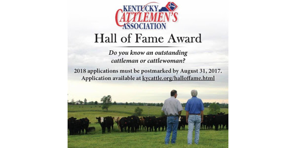 Nominations for KCA Hall of Fame due Aug. 31
