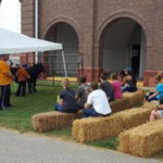 Two of the Fair's events, Let's Talk Livestock and Barnyard Story Time, offer a chance for fairgoers to learn about agriculture from the folks that live it each day. (Courtesy of Missouri Department of Agriculture)