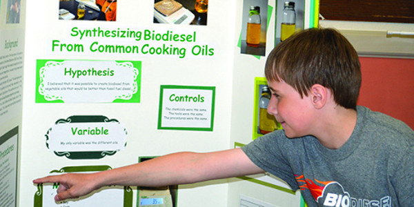 Josiah Butler is already a biodiesel true believer at the ripe age of 10 years old. (Courtesy of Minnesota Soybean)