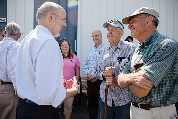 Wolf touts work to build vibrant ag industry