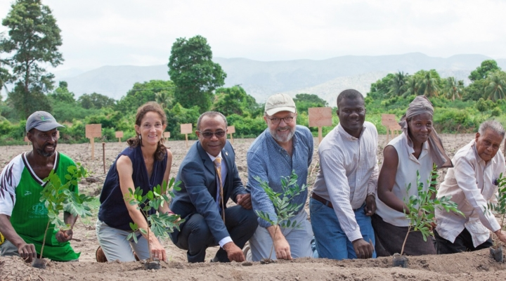 Hope for farmers in Haiti