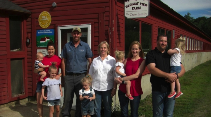 2017 N.H. Dairy Farm of the Year