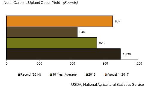 Cotton, peanut, wheat production forecasts up