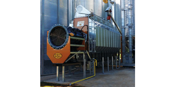 An example of the type of GSI grain dryer tour participants will see at the Grand Valley Farm energy efficiency tour Thursday, Aug. 17. (Courtesy of MSU Extension)