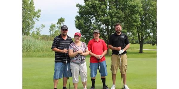 Gresham FFA alumni team. (Courtesy of Wisconsin FFA Foundation)