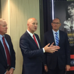 Gov. Ricketts discusses value-added ag strategies. (Courtesy of Office of Governor Pete Ricketts)