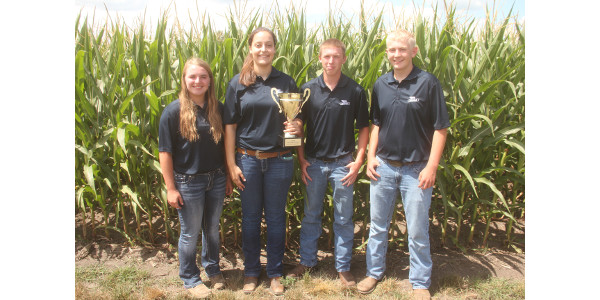 Winning teams from crop scouting competition