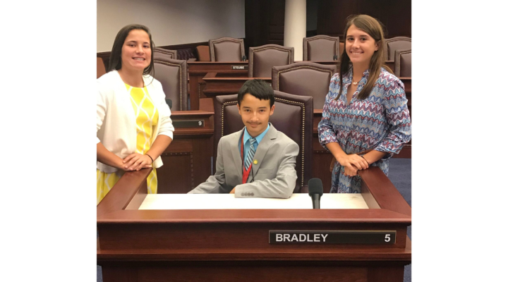 Clay County 4-H youth visit Tallahassee