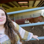 A dedicated 4-H member since the age of 9, MaryBeth Tyndall will already know her way around campus when she arrives in August as a freshman agricultural education major. (Courtesy of NC State University)