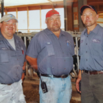 Brothers Chuck, Gary and Troy Ripp own and operate Ripp's Dairy Valley farm along with their mom, Eileen. (Courtesy of PDPW)
