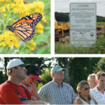 Iowa Learning Farms will host a monarch butterfly conservation field day Thursday, September 7th. (Screenshot from flyer)