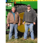 Jerry and Tom Peckumn. (Courtesy of Practical Farmers of Iowa)