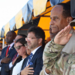 More than 400 people celebrated the dedication of Fort Bragg's new Career Resource Center. NC State's Agricultural Institute is a partner, helping military servicemen and -women make a successful transition to agricultural careers. (Courtesy of NC State University)