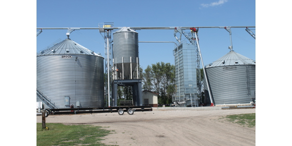 Safety and automation are two key components of any plan to construct or expand grain handling and storage facilities. (NDSU photo)