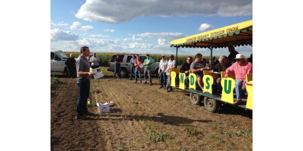 Carrington row crop tour Aug. 24
