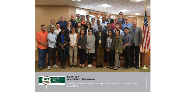 Twenty four participants from 10 different countries took part in the successful 2017 NCI-INTSOY course June 5-10. (Courtesy of NCI)