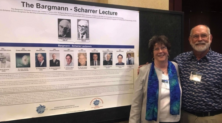 UNH researcher honored for achievements