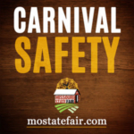 In addition to meeting required safety regulations, the MSF also requires that a third party, nationally-certified carnival ride inspector is on the fairgrounds throughout the entire fair overseeing ride safety.