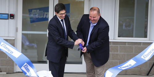 Elanco opens facility in Winslow, Maine