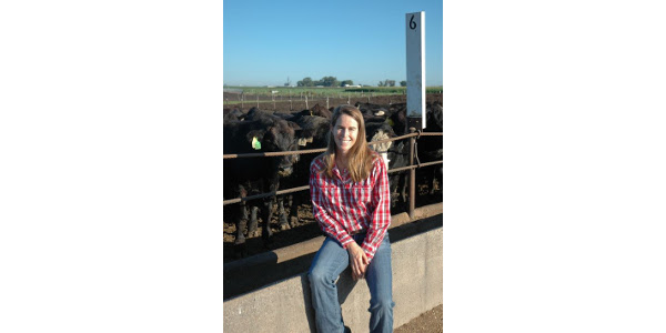 The beef advocacy program supported by the beef checkoff has named blogger and cattlewoman Anne Burkholder as the recipient of the first Advocate of the Year award. (Courtesy of Cattlemen's Beef Promotion & Research Board)