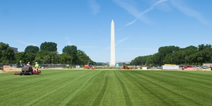 Soil microbes survive Nat'l Mall facelift